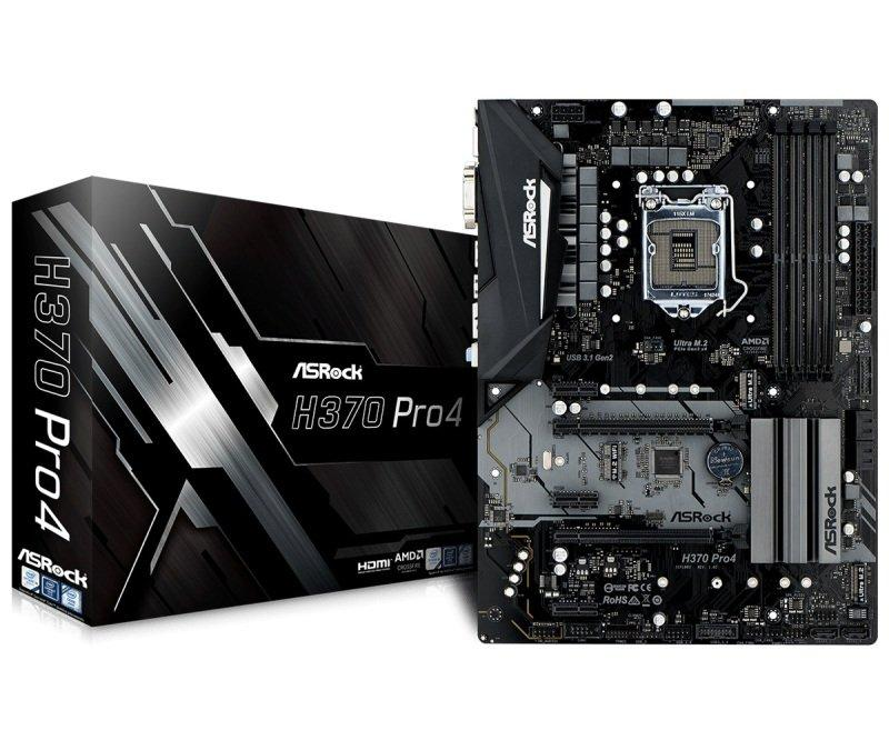 ASRock H370M Pro4 Micro ATX LGA 1151