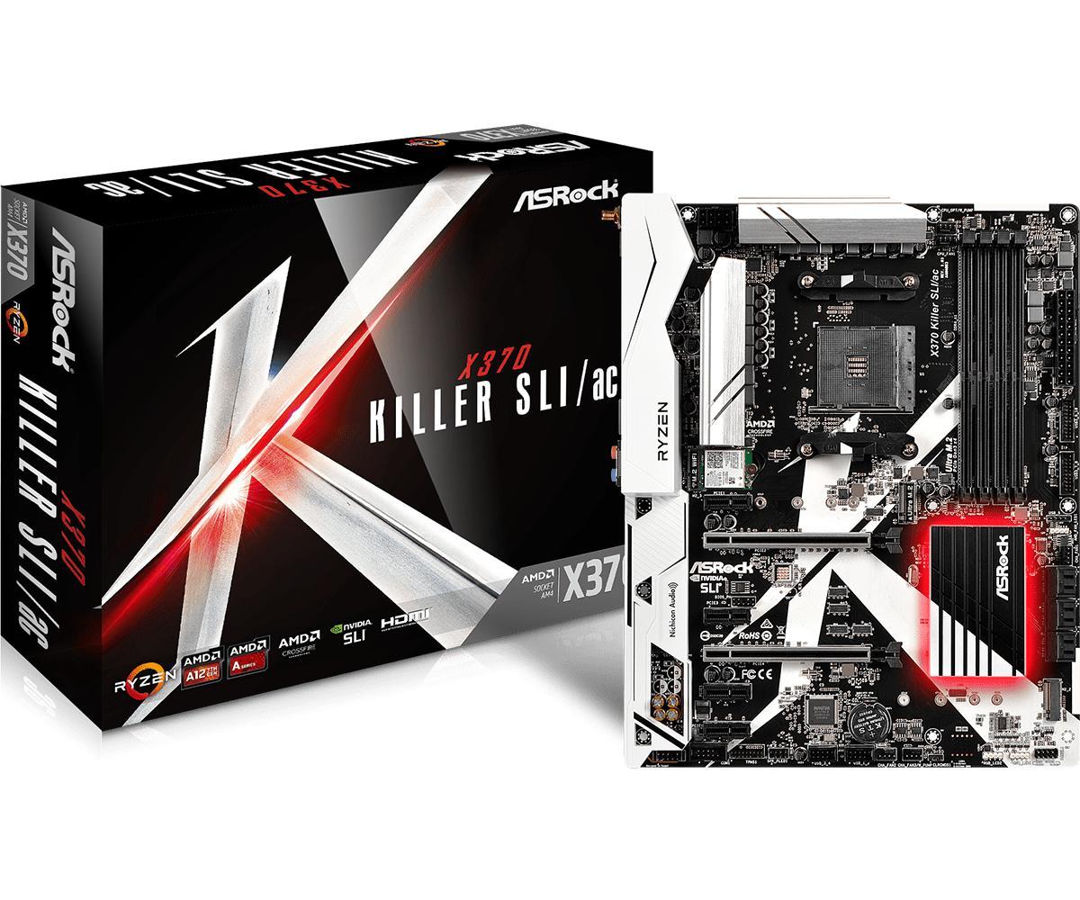 ASRock X370 Killer SLI/ac ATX AM4