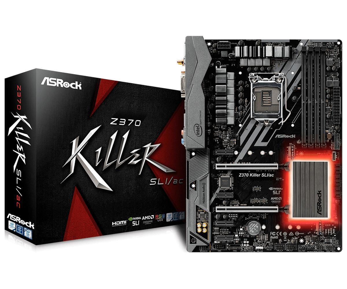 ASRock Z370 Killer SLI/ac ATX LGA 1151