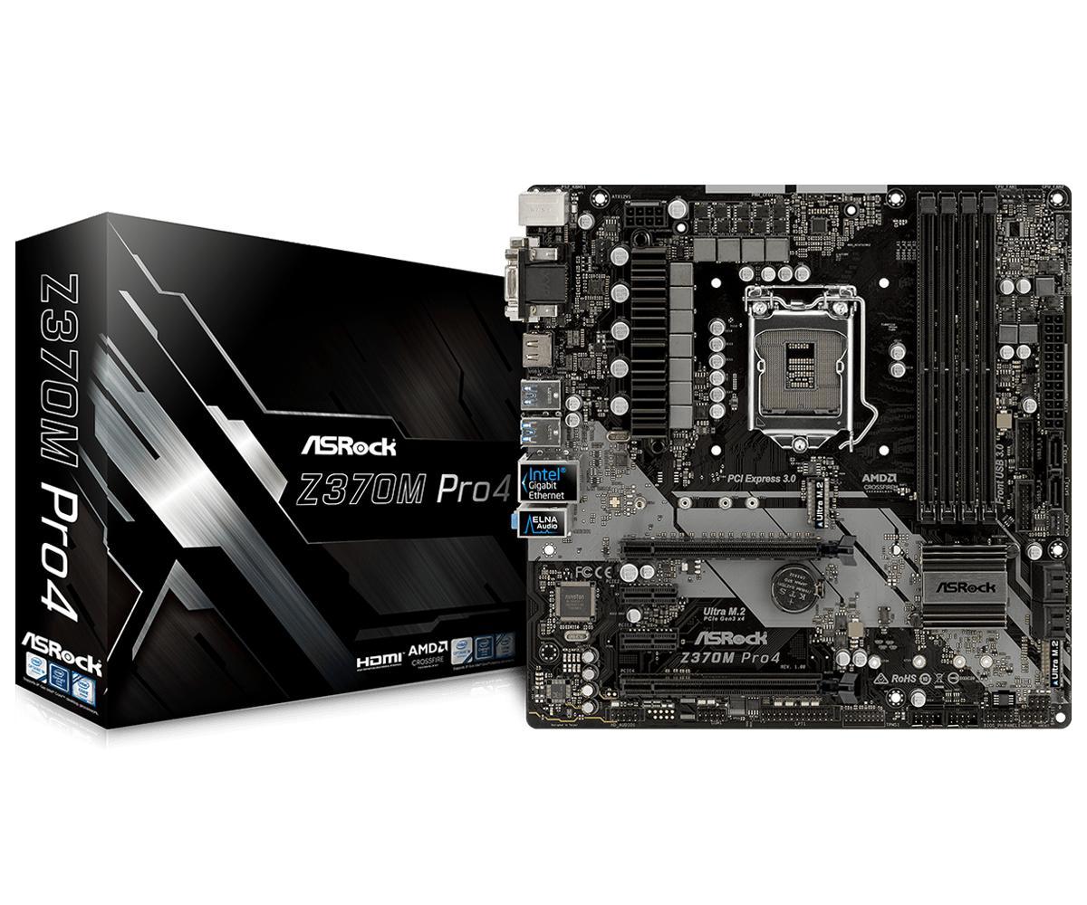 ASRock Z370M Pro4 Micro ATX LGA 1151