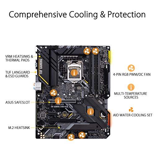 Asus TUF Gaming Z490-Plus ATX LGA 1200