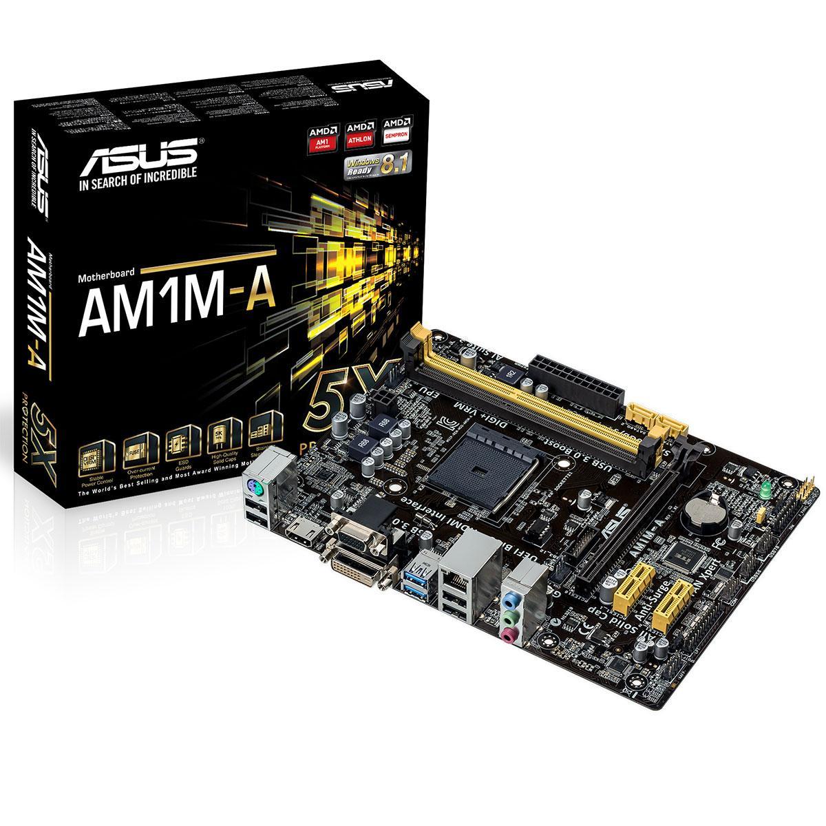 Asus AM1M-A/BR Micro ATX AM1