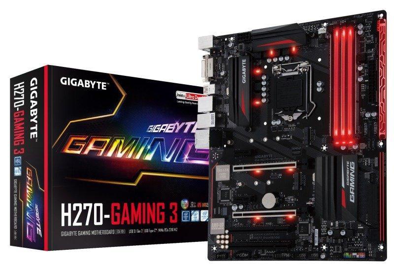 Gigabyte GA-H270-GAMING 3 ATX LGA 1151