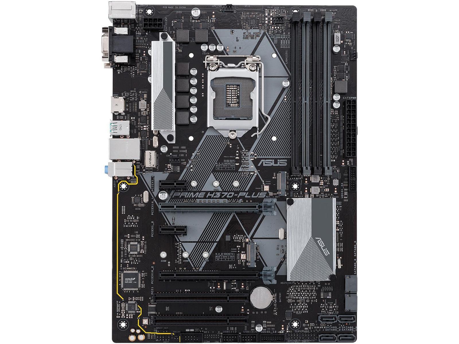Asus H370-PLUS ATX LGA 1151