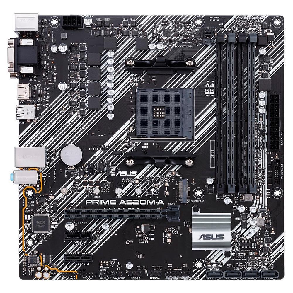 Asus Prime A520M-A Micro ATX AM4