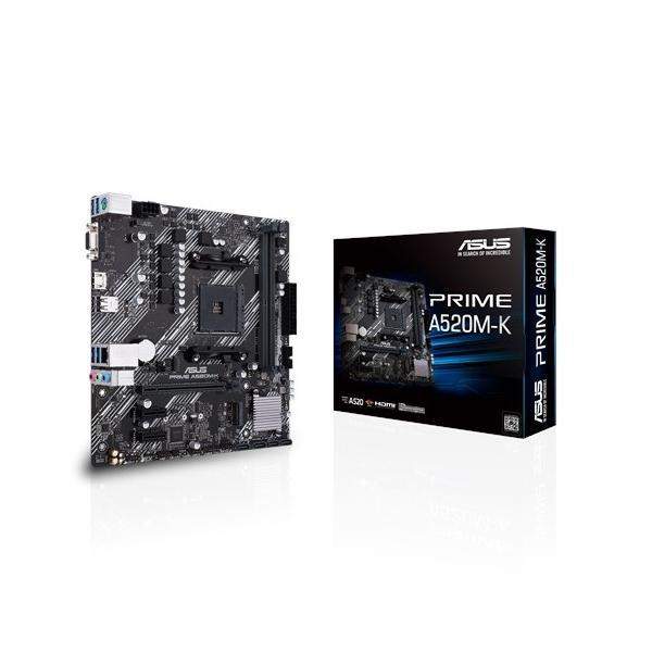 Asus Prime A520M-K Micro ATX AM4