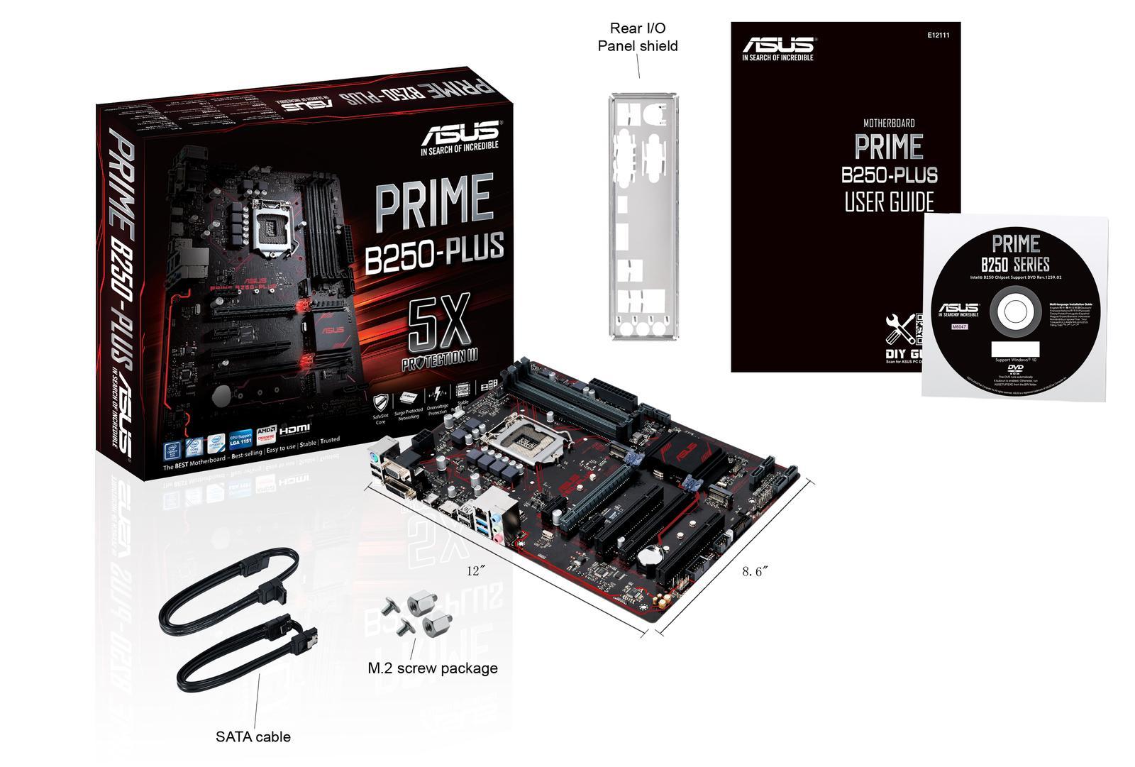 Asus PRIME B250-PLUS ATX LGA 1151