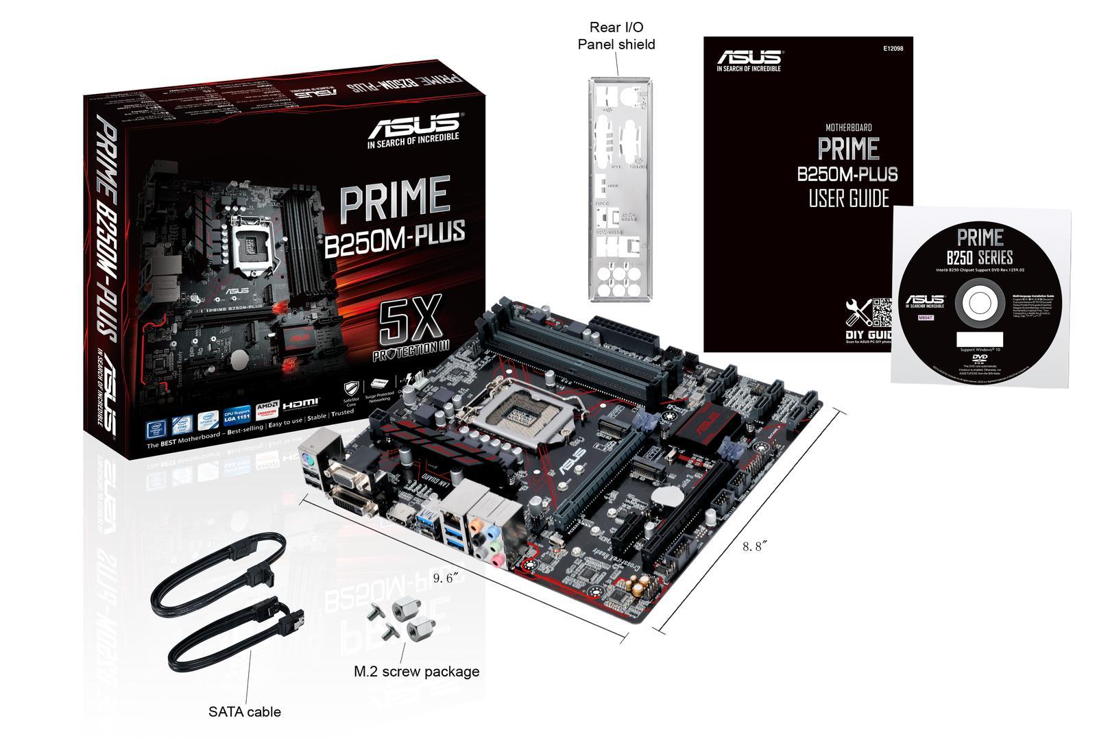 Asus PRIME B250M-PLUS Micro ATX LGA 1151