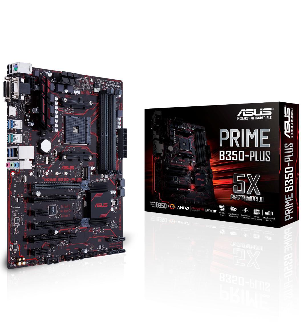 Asus PRIME B350-PLUS ATX AM4