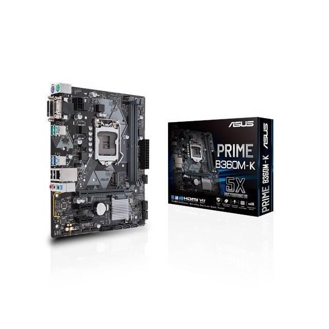 Asus PRIME B360M-K Micro ATX LGA 1151