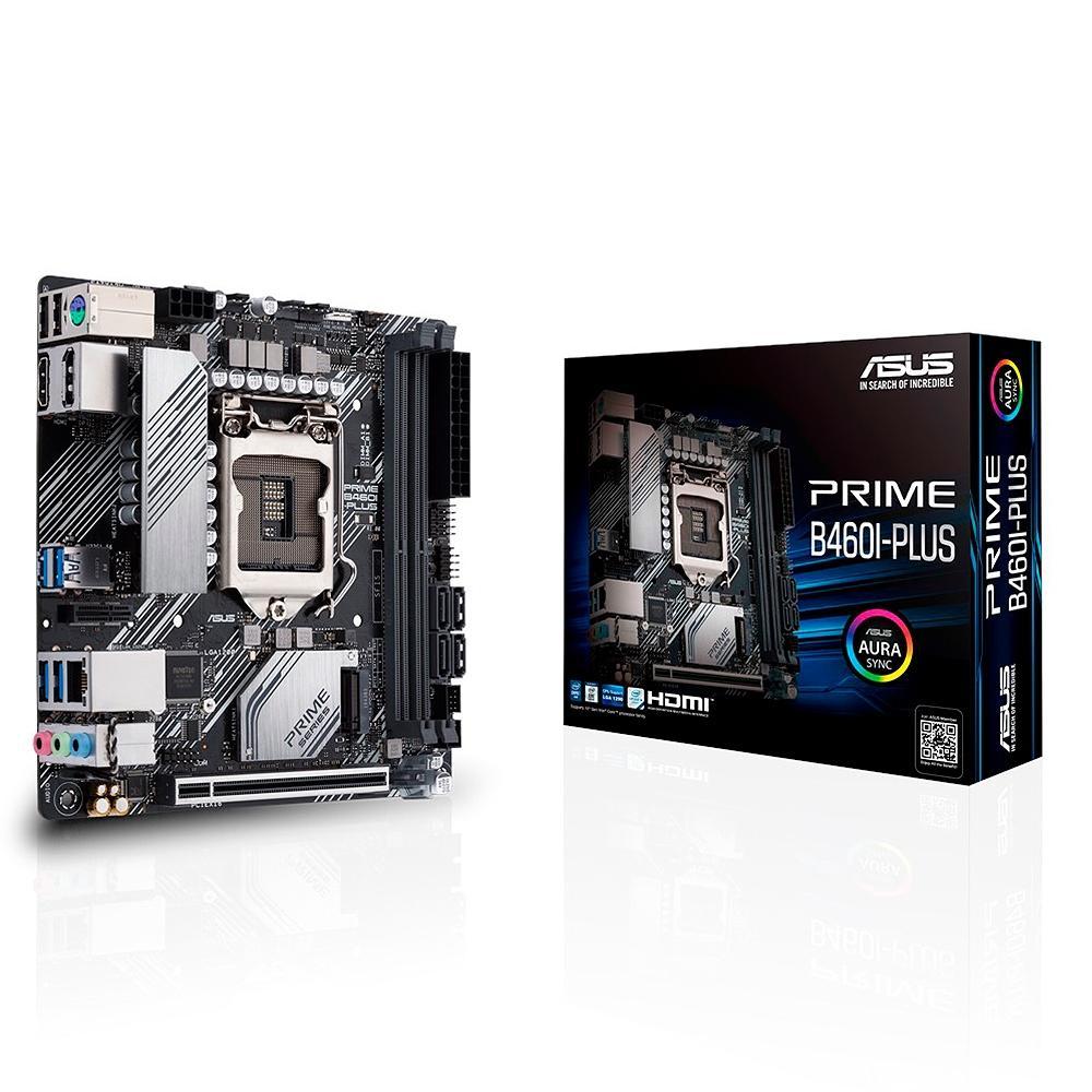 Asus PRIME B460I-PLUS Mini ITX LGA 1200