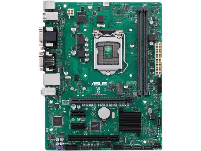 Asus PRIME H310M-C Micro ATX LGA 1151