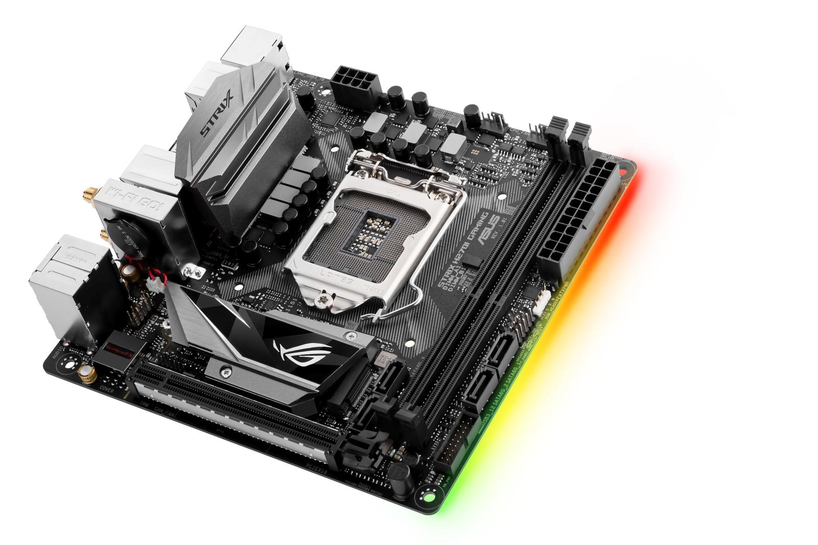 Asus ROG STRIX H270I GAMING Mini ITX LGA 1151