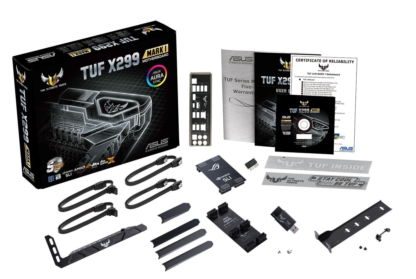 Asus TUF X299 MARK 1 ATX LGA 2066