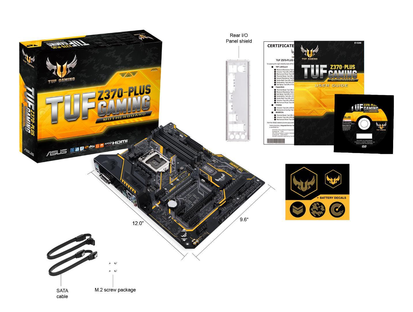 Asus TUF Z370-PLUS GAMING ATX LGA 1151