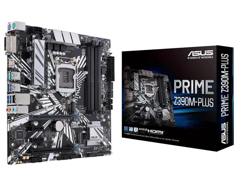 Asus PRIME Z390M-PLUS Micro ATX LGA 1151