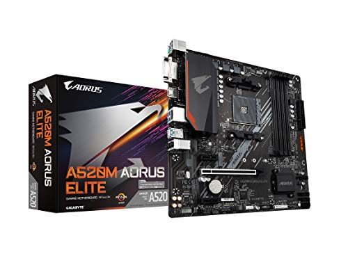 Gigabyte A520M AORUS ELITE Micro ATX AM4