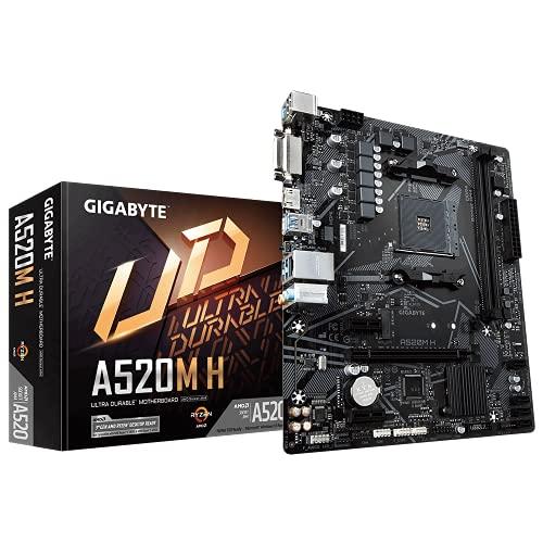 Gigabyte A520M H Micro ATX AM4