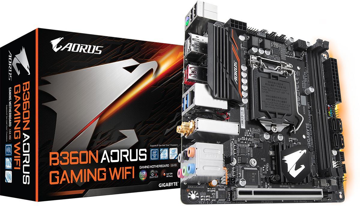 Gigabyte B360N WiFi Mini ITX LGA 1151