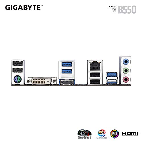 Gigabyte B550M DS3H Micro ATX AM4