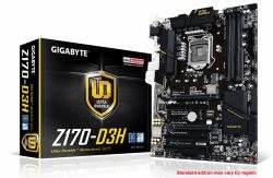 Gigabyte GA-Z170-D3H ATX LGA 1151