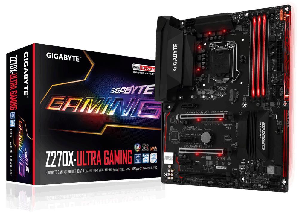 Gigabyte GA-Z270X-Ultra Gaming ATX LGA 1151