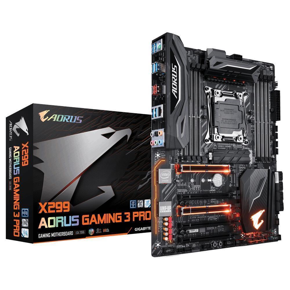 Gigabyte X299 AORUS Gaming 3 Pro ATX LGA 2066