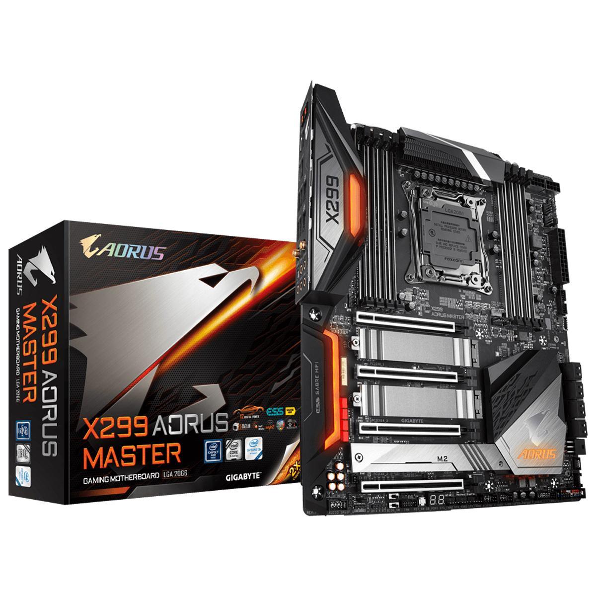 Gigabyte X299 Aorus Master EATX LGA 2066