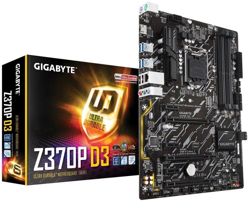 Gigabyte Z370P D3 ATX LGA 1151