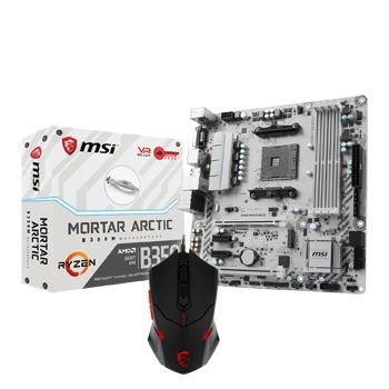 MSI B350M MORTAR ARCTIC Micro ATX AM4