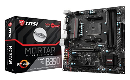 MSI B350M MORTAR Micro ATX AM4