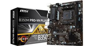 MSI B350M Pro-VH Plus Micro ATX AM4