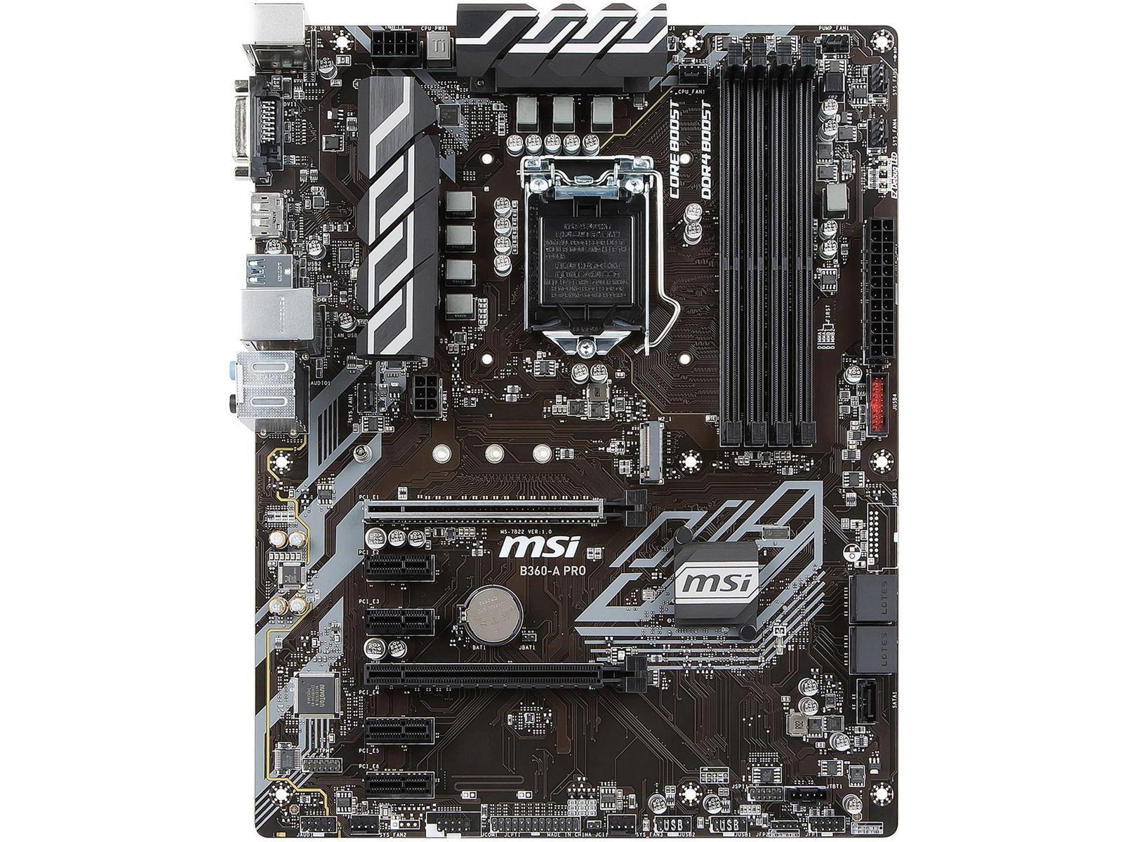 MSI B360-A PRO ATX LGA 1151
