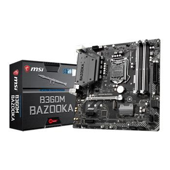 MSI B360M BAZOOKA Micro ATX LGA 1151