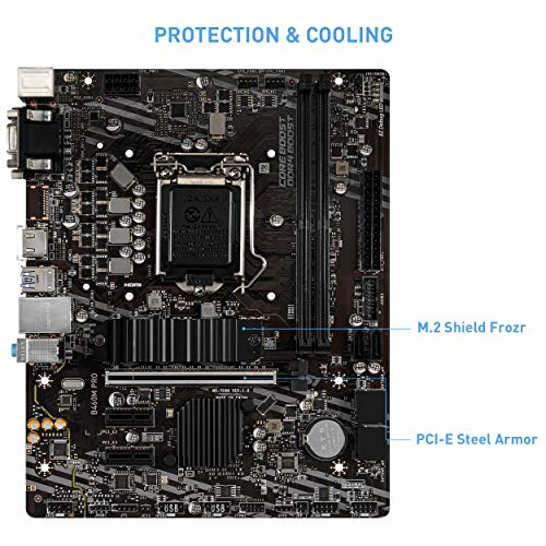 MSI B460M PRO Micro ATX LGA 1200