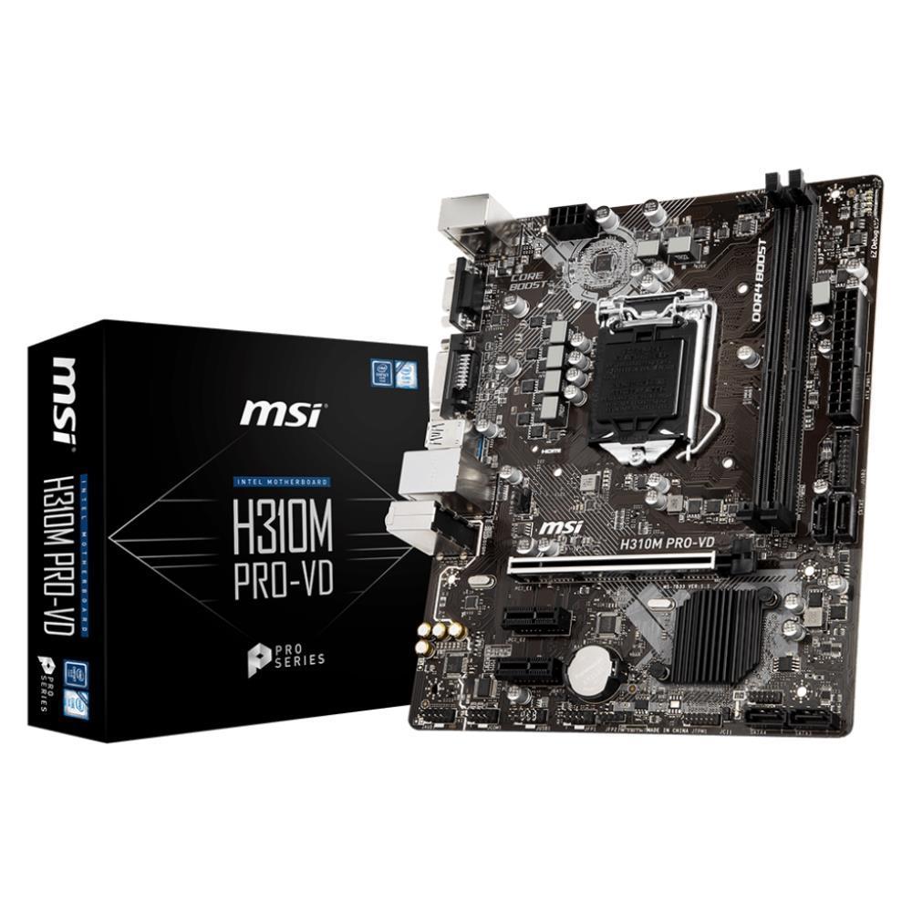 MSI H310M PRO-VD Micro ATX LGA 1151