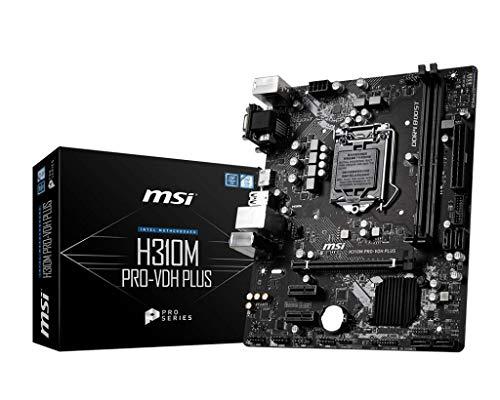 MSI H310M PRO-VDH Micro ATX LGA 1151