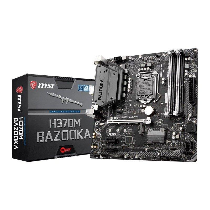 MSI H370M BAZOOKA Micro ATX LGA 1151
