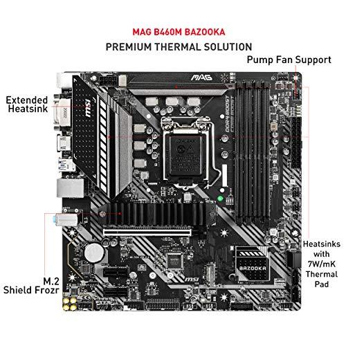 MSI MAG B460M BAZOOKA Micro ATX LGA 1200