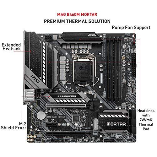 MSI MAG B460M MORTAR Micro ATX LGA 1200