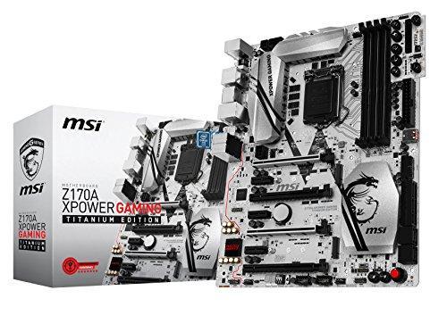 MSI Z170A XPOWER GAMING TITANIUM EDITION ATX LGA 1151