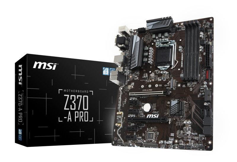 MSI Z370-A PRO ATX LGA 1151