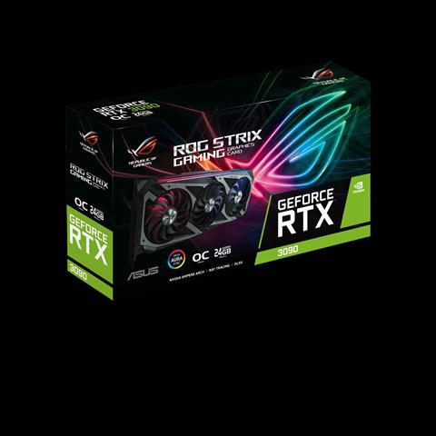 Asus GeForce RTX 3090 24 GB ROG Strix