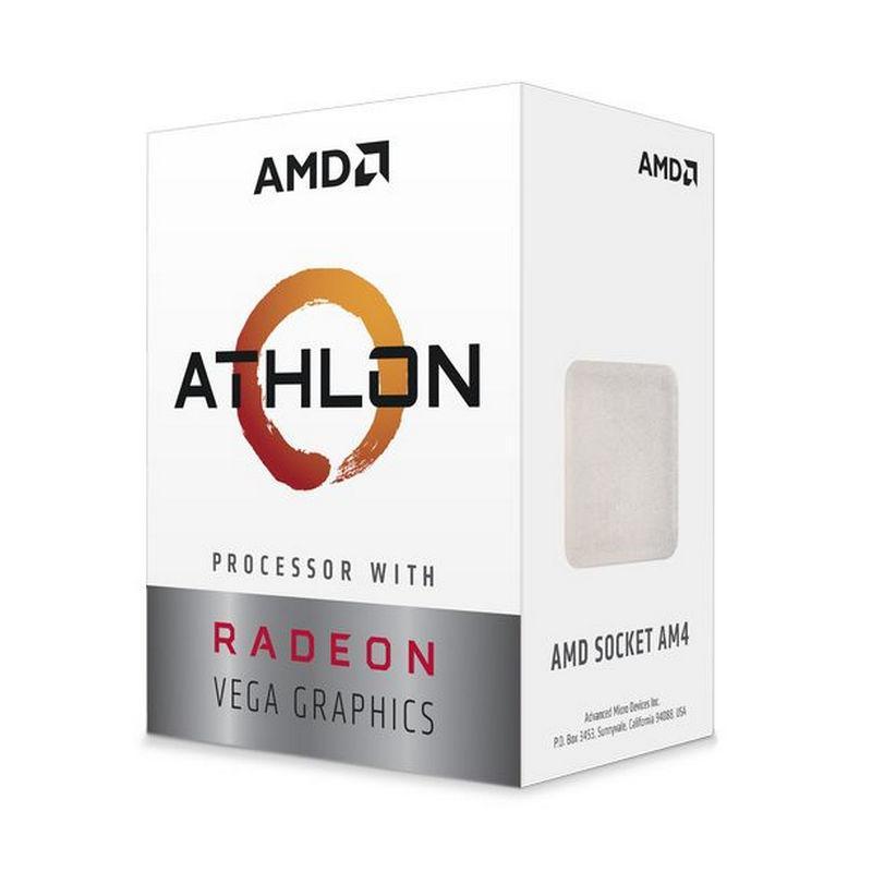 AMD Athlon 220GE 3.4 GHz Dual-Core