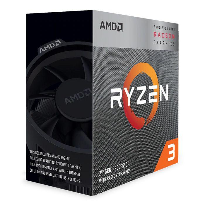 AMD Ryzen 3 3200G 3.6 GHz Quad-Core