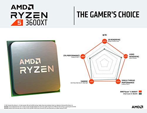 AMD Ryzen 5 3600XT 3.8 GHz 6-Core
