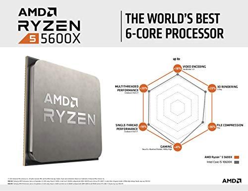 AMD Ryzen 5 5600X 3.7 GHz 6-Core