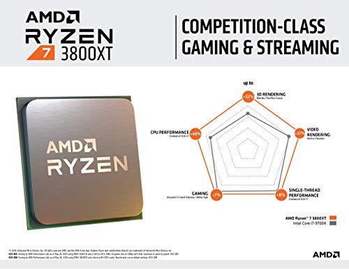 AMD Ryzen 7 3800XT 3.9 GHz 8-Core
