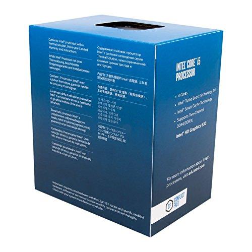 Intel Core i5-7400 3.0 GHz Quad-Core
