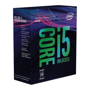 Intel Core i5-8600K 3.6 GHz 6-Core